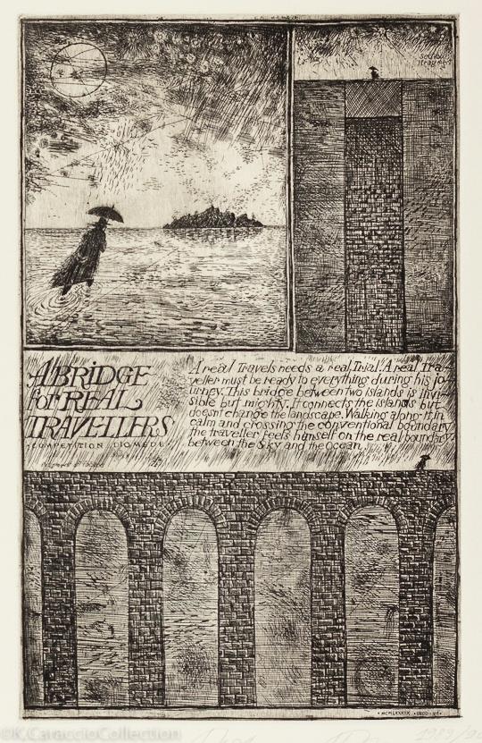 Diomede I ( aka A Traveler's Bridge)