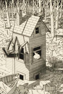 House Climbing, 1988