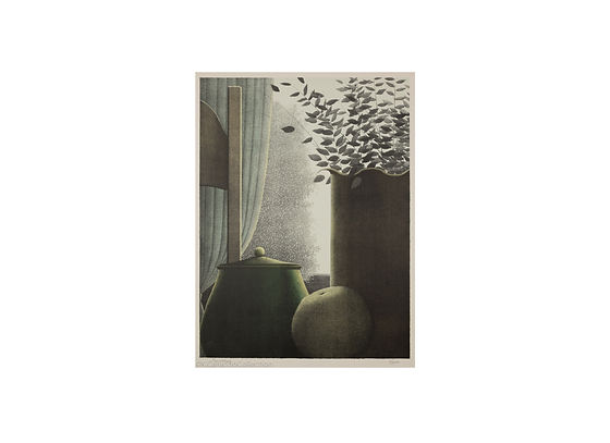 7 Kipniss, Robert_Curtains + leaves (on