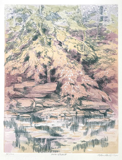 River Etude II, 1982