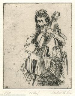Cellist, 1973