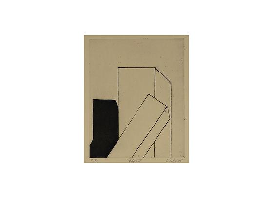 1 Leiber, Gerson_'Blox VI'_2005_etching_