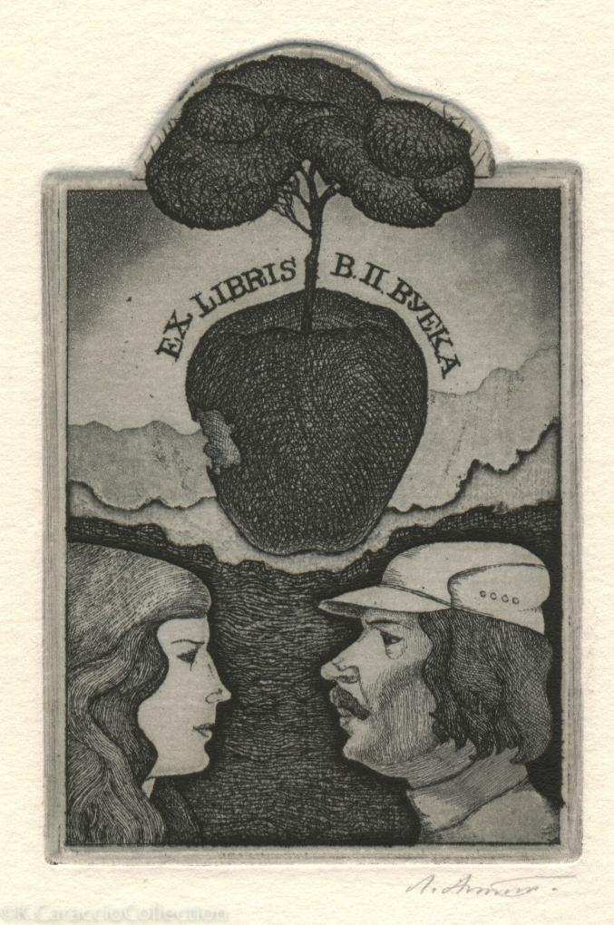 Ex Libris B II Byeka, 1985