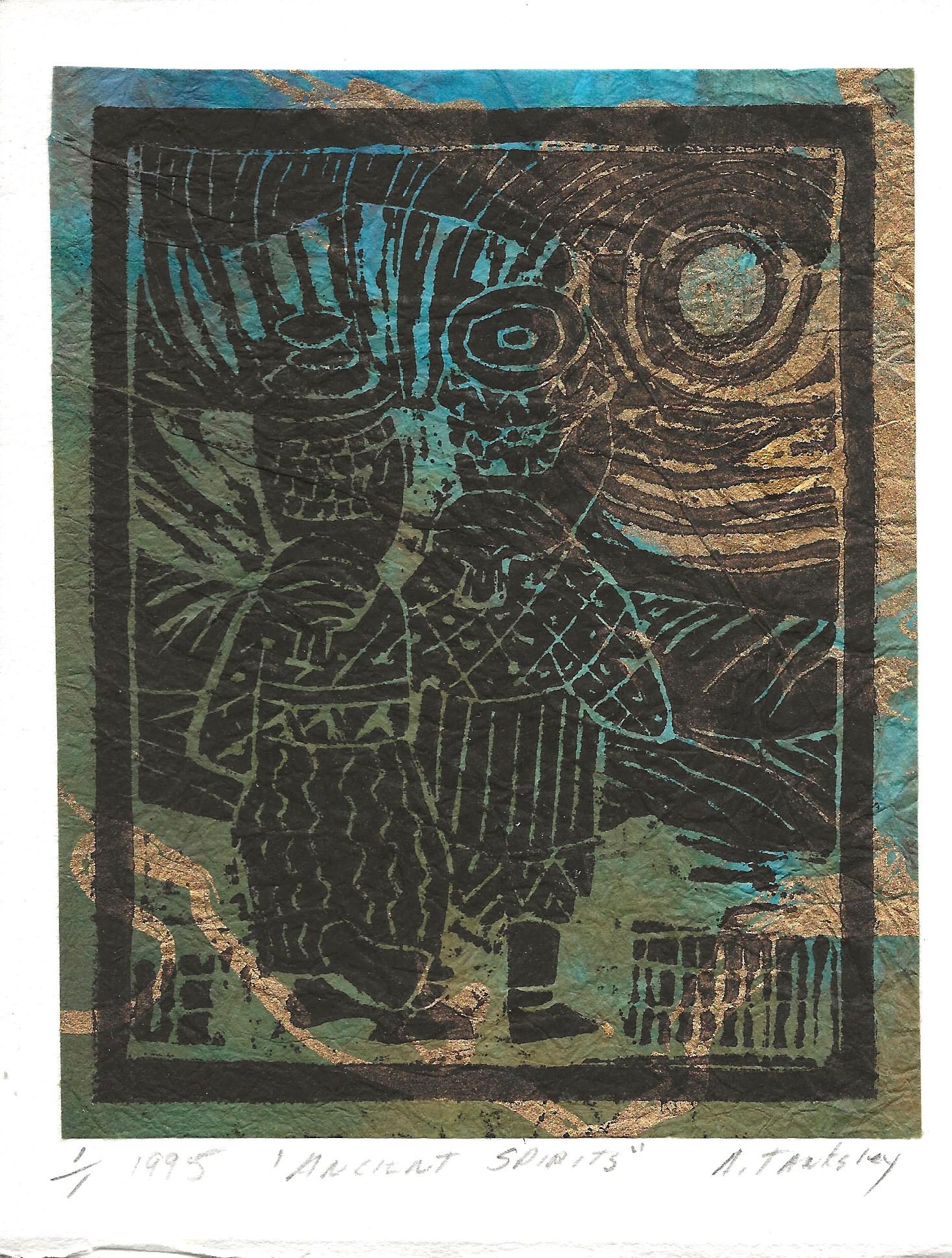 """Ancient Spirits"", 1995"