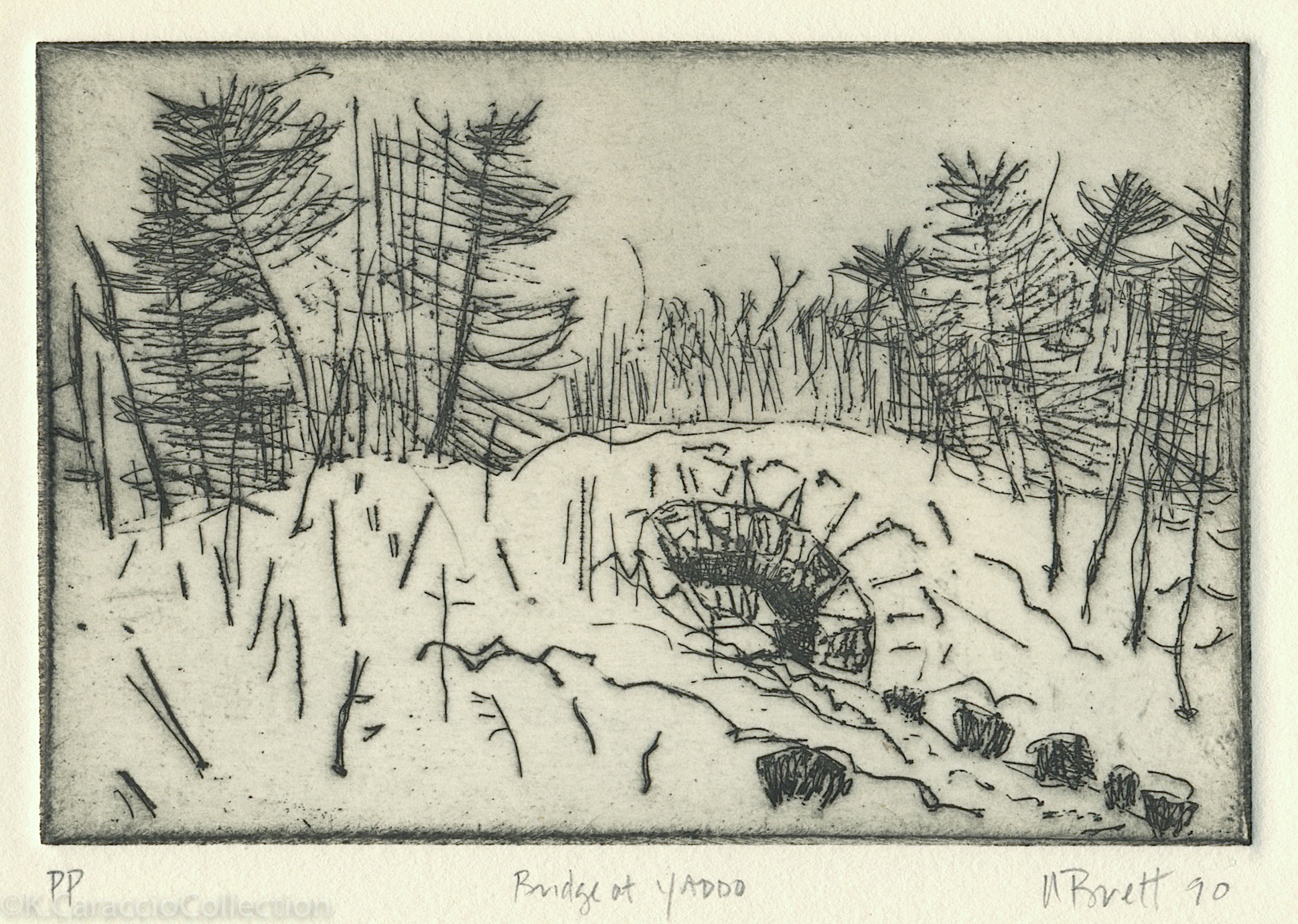 Bridge at Yaddo, 1990