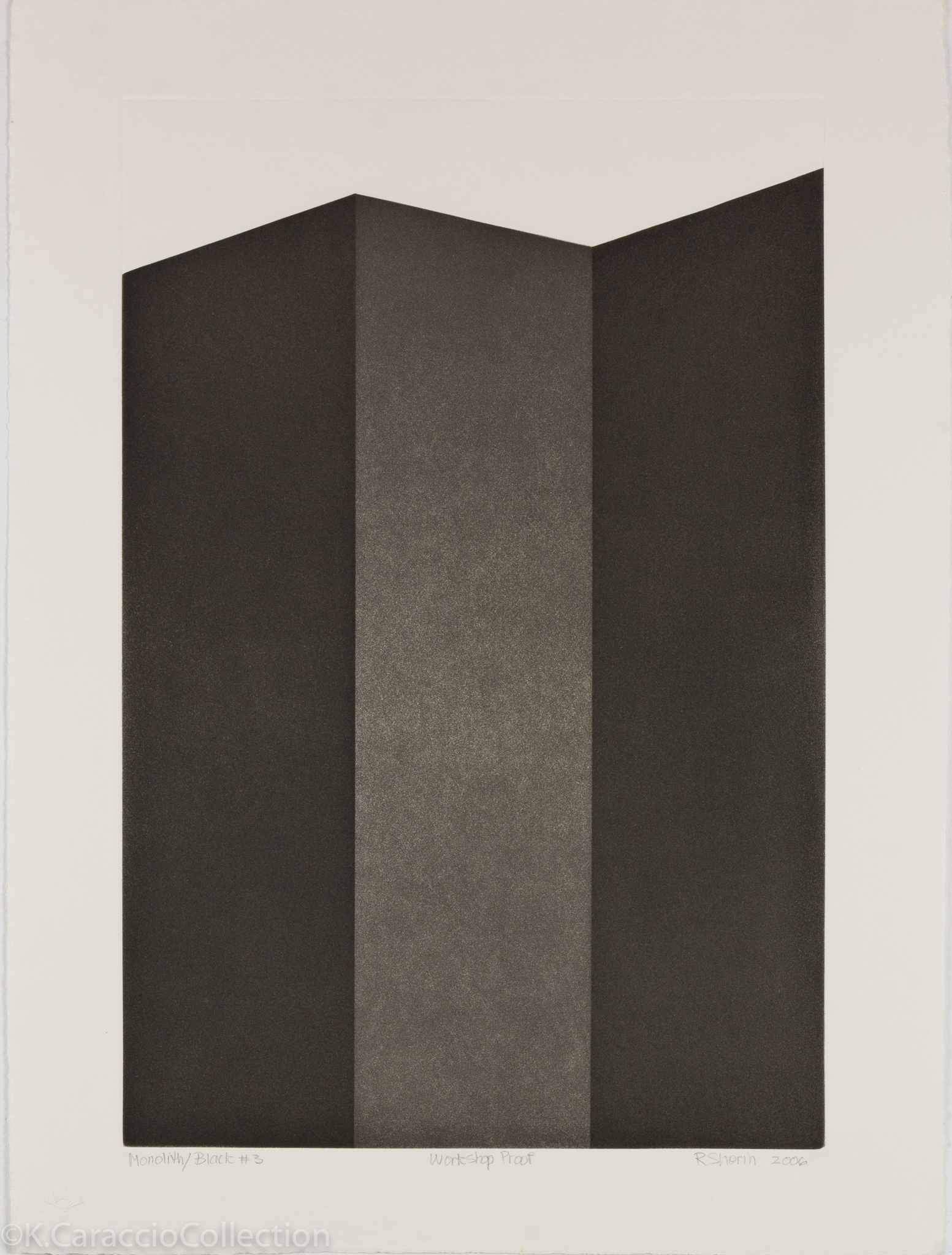 Monolith/Black #3, 2006
