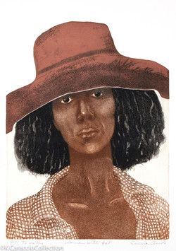 Woman with Hat, 1980