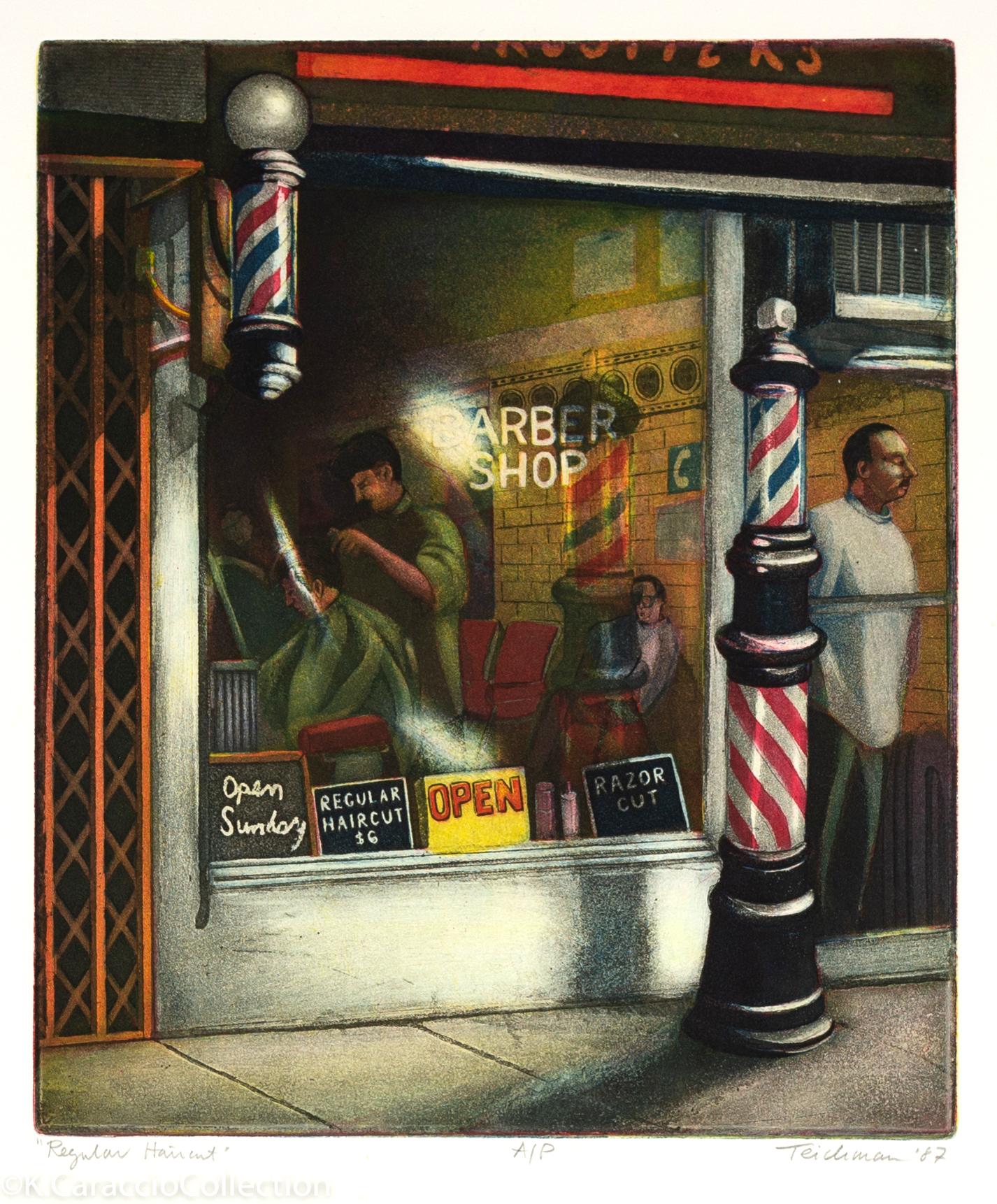 """""""Regular Haircut"""", 1987"""