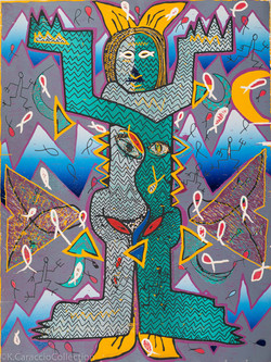 Spirit Figure II, 1989
