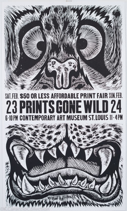 Prints Gone Wild Poster, 2013