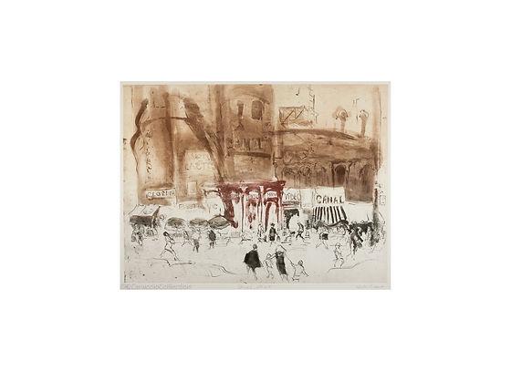14 Frank, Helen_Canal Street_etching, aq