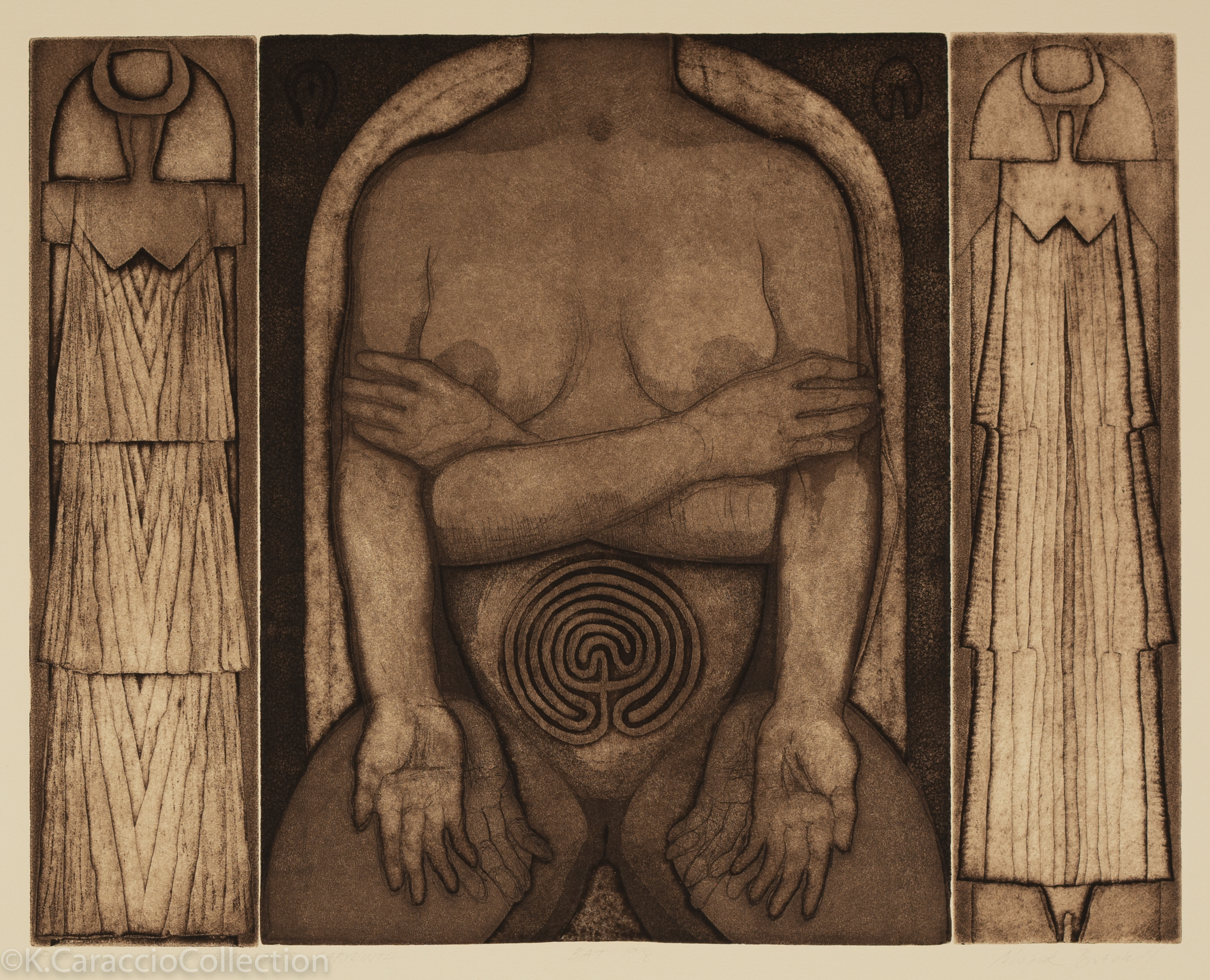Post-Christian Alter Image - Labyrinth, 1998