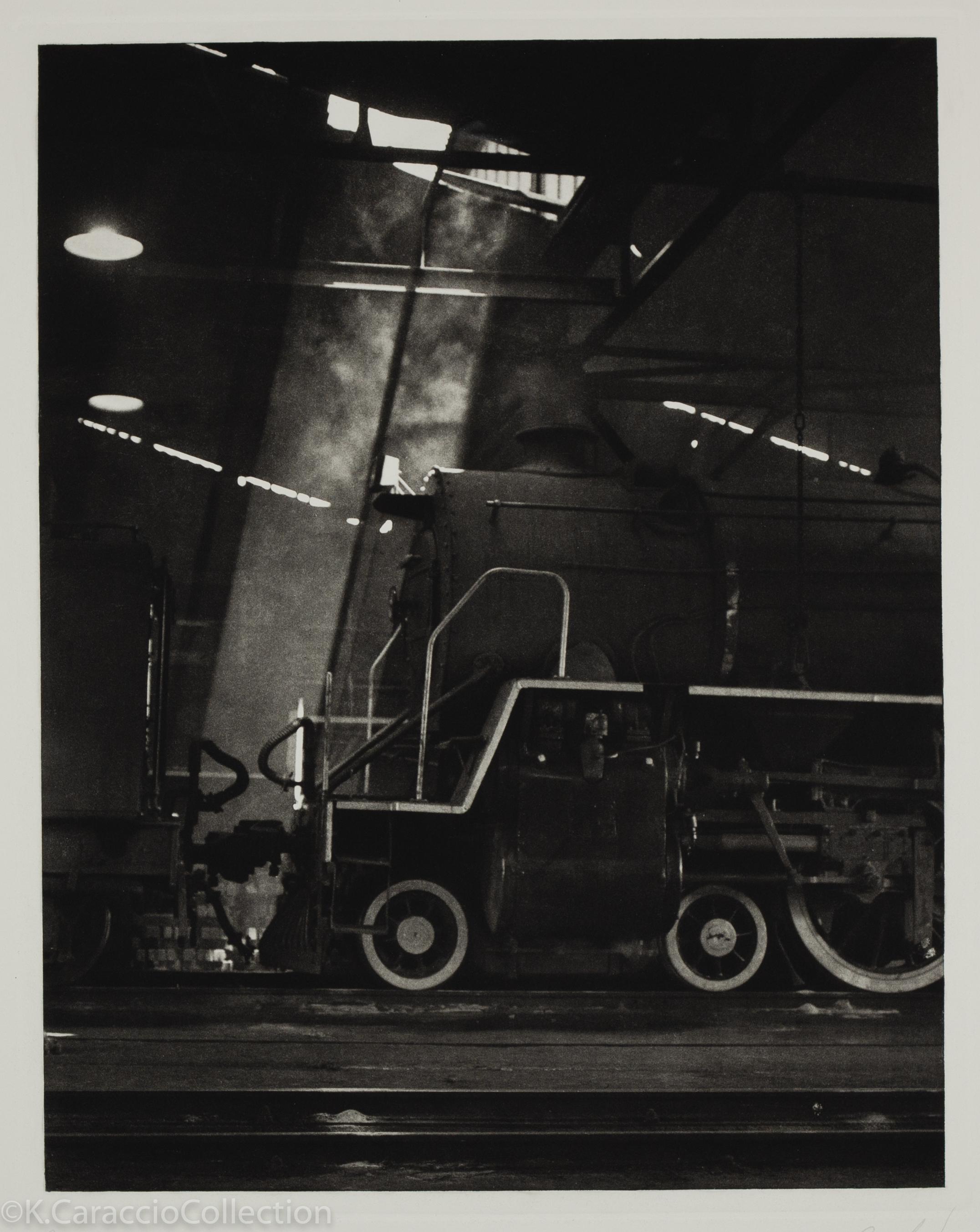 Capetown Black and White Locomotive, 1984