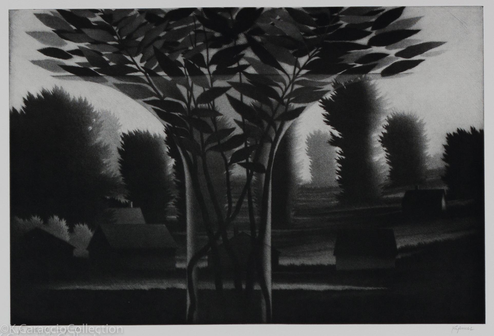 Clear Vase & Landscape, 1995