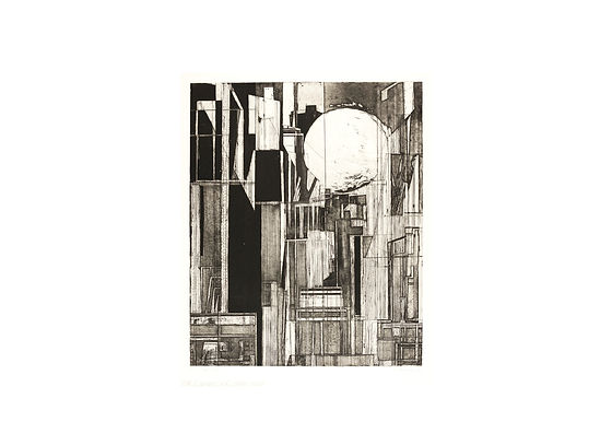 8 Seidler, Doris_THE CITY_1952_Etching_2