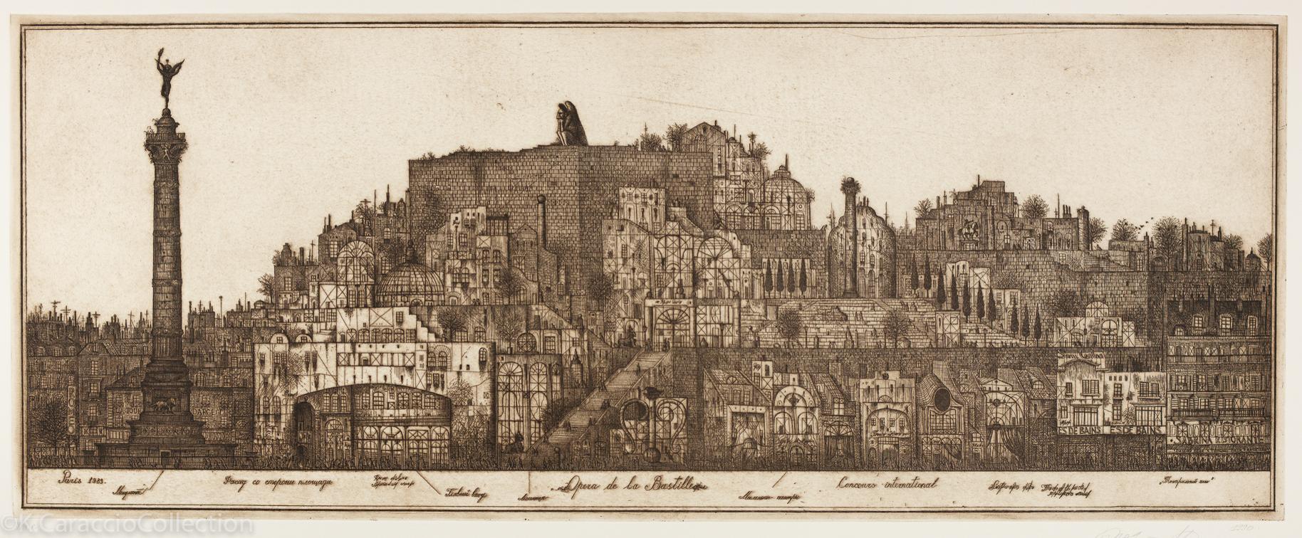 Opera de la Bastille, 1990
