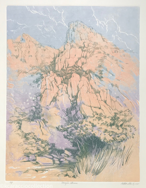 Canyon Stream, 1981