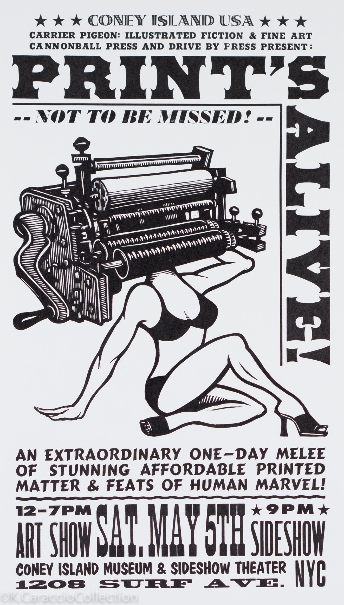 Prints Alive Poster, 2012