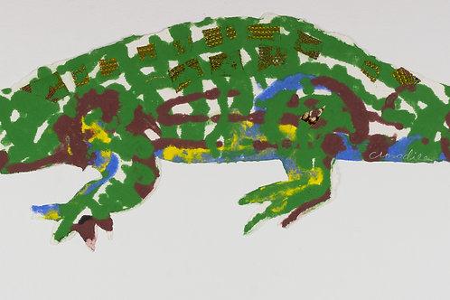 Emma Amos, Crocodile