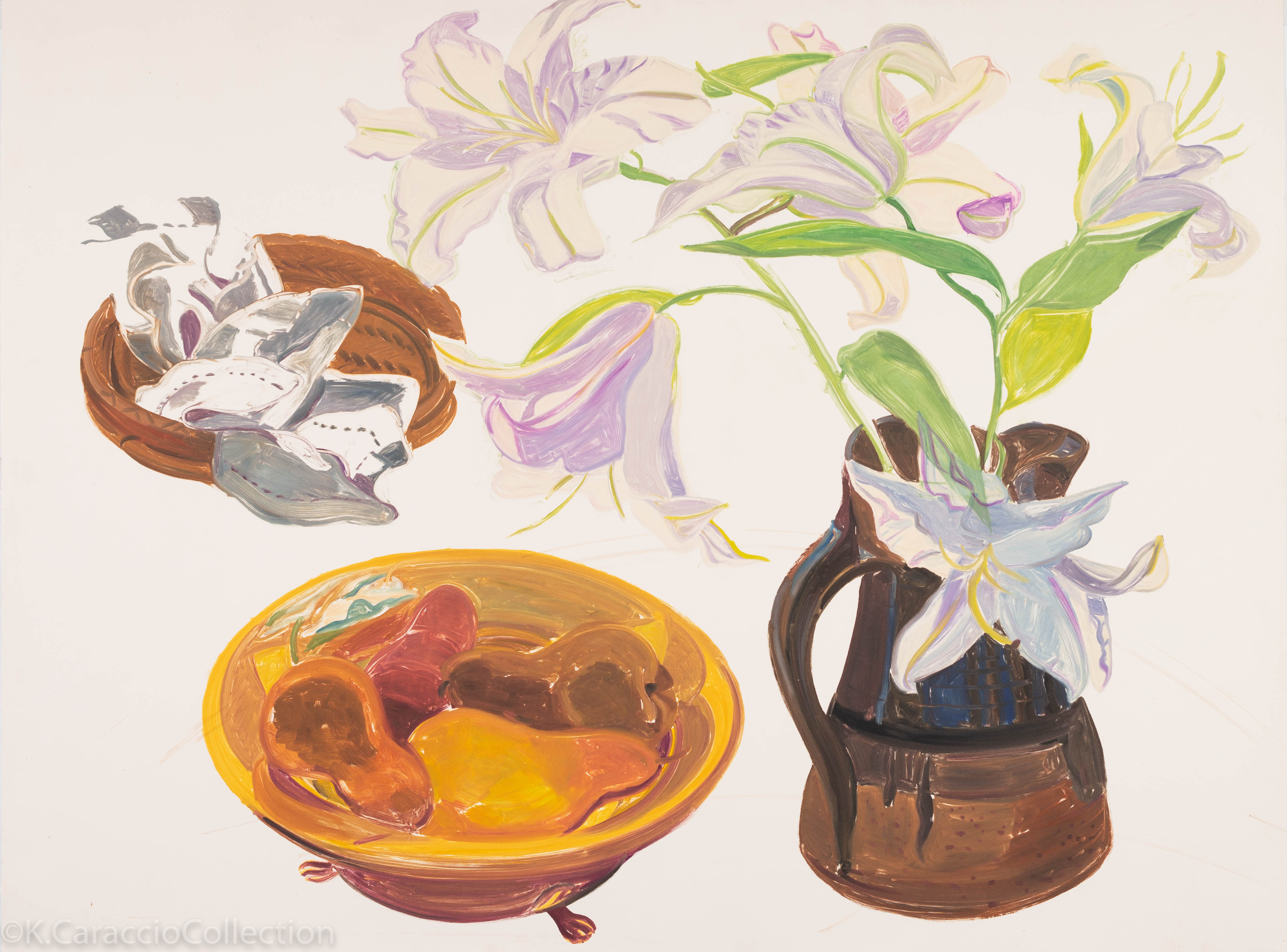 Shorr, Harriet_Casablanca Lilies (unsign