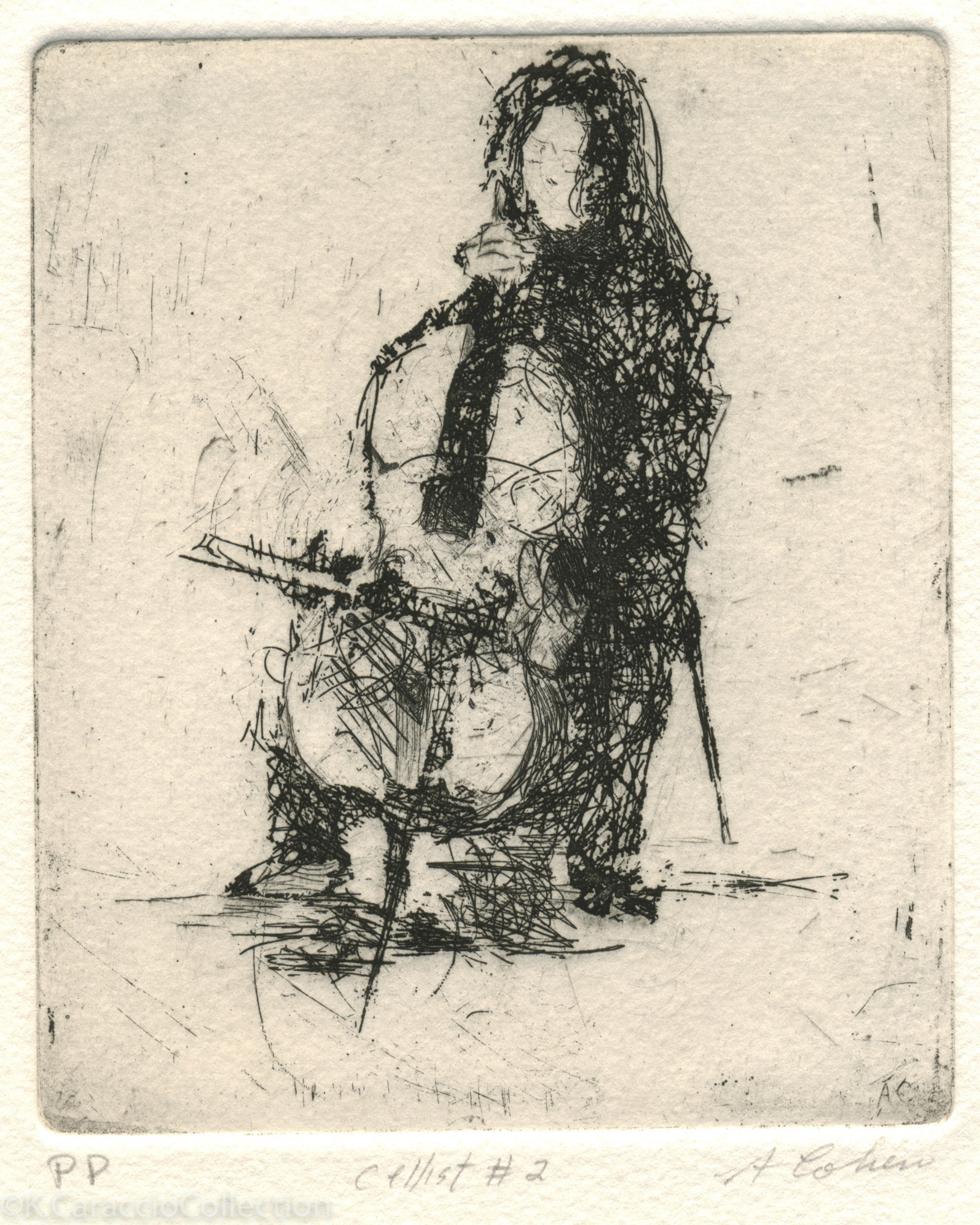 Cellist II, 1973