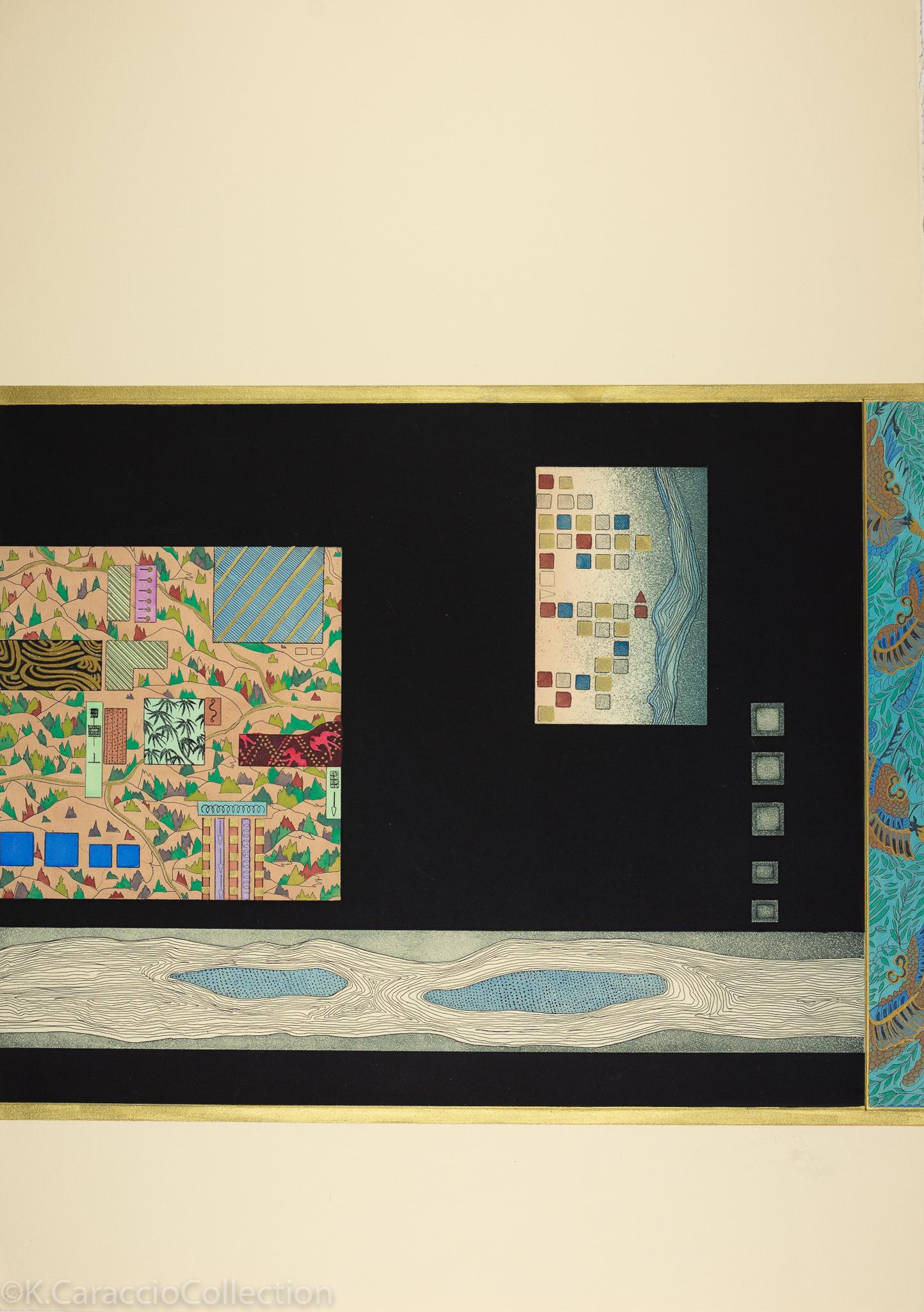 Oriental Map Series II, 1989