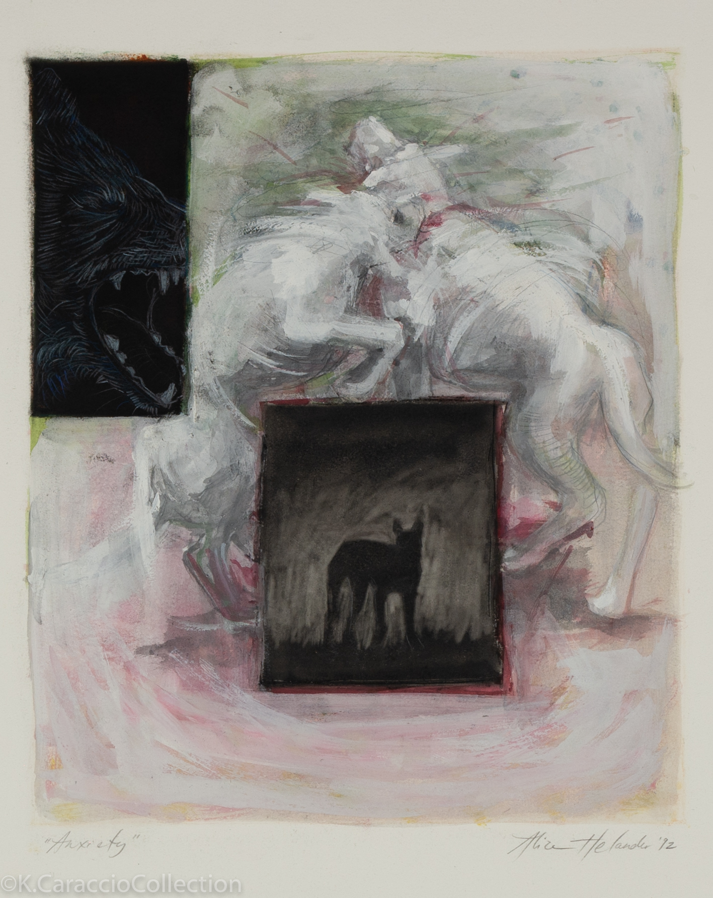 Anxiety (fighting dogs), 1992