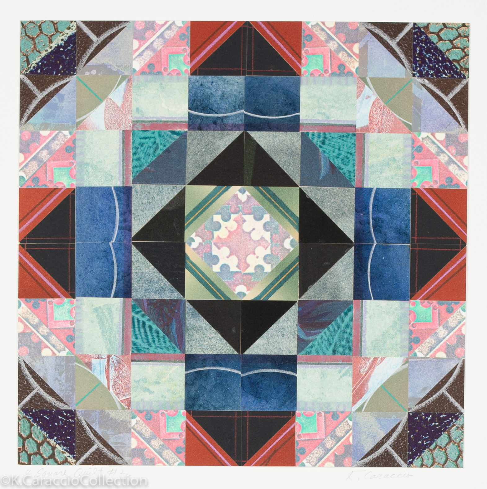 8 Square Quilt #2, 1989