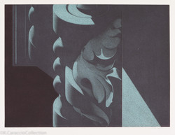 S.L.P. #3, Red-Blue, 1985