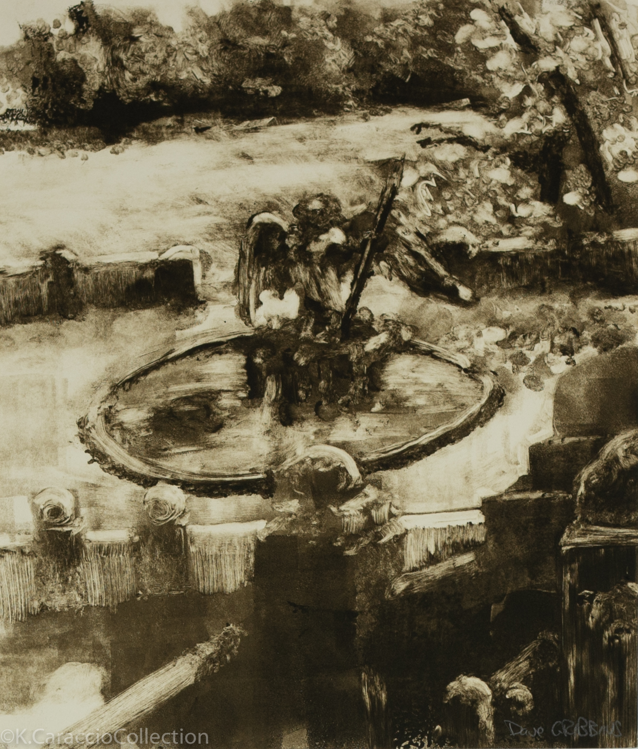 Bethesta Fountain, 1991