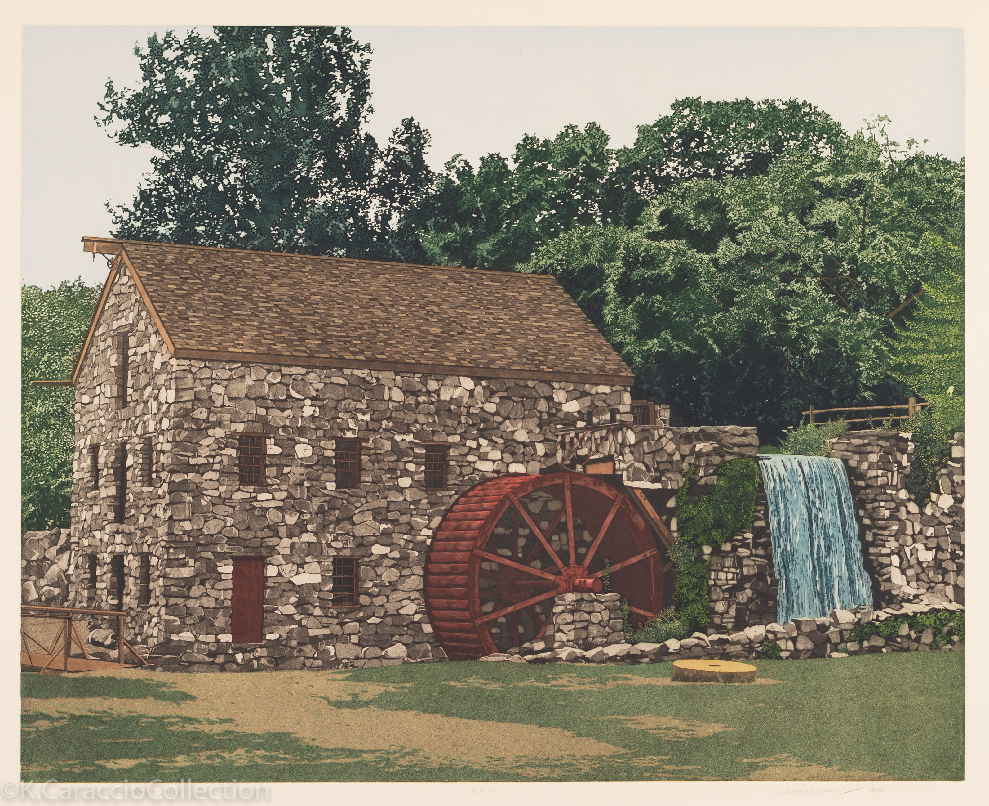 The Grist Mill, 1986