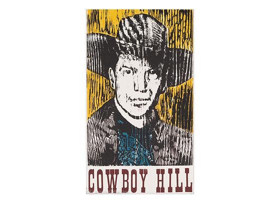 1 Hill, Morgan_Cowboy Hill_2003_Woodcut