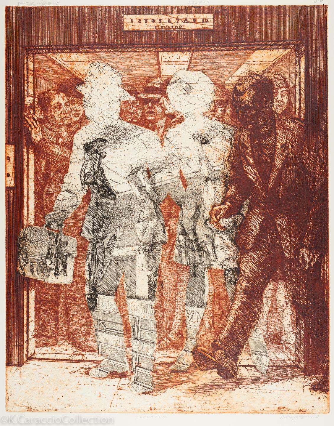 """Elevator"" and ""Street"", 1970"