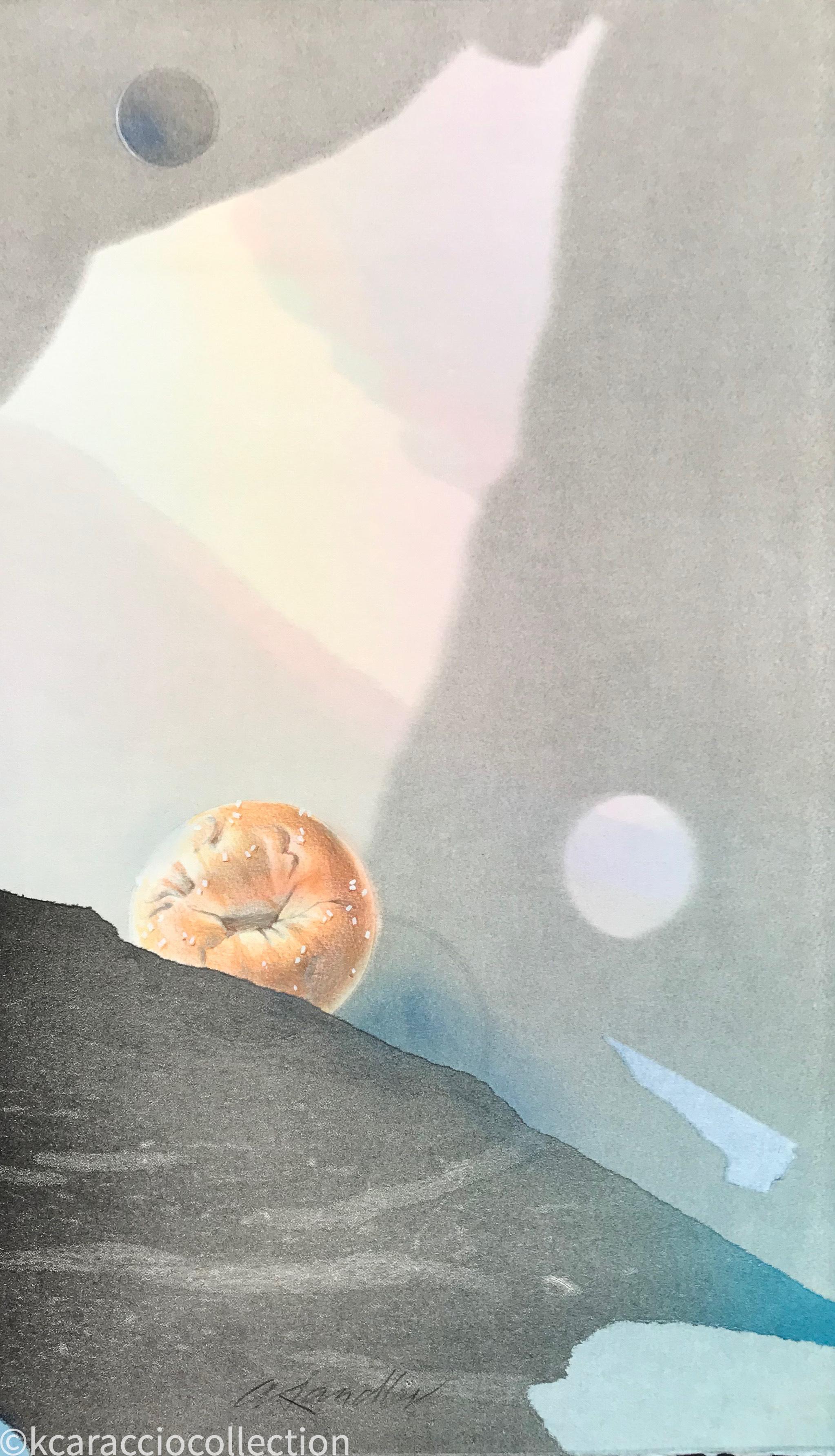 Bagel Genesis (on verso), 1981