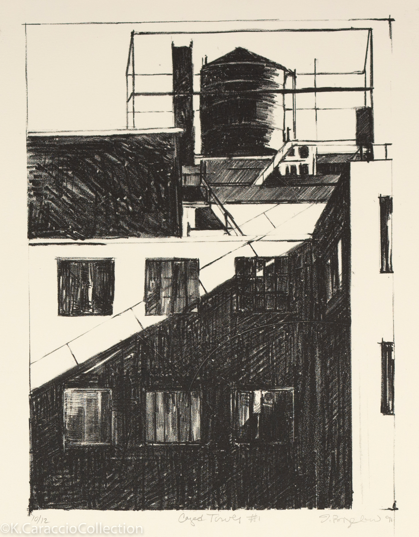 Caged Tower #1, 1991