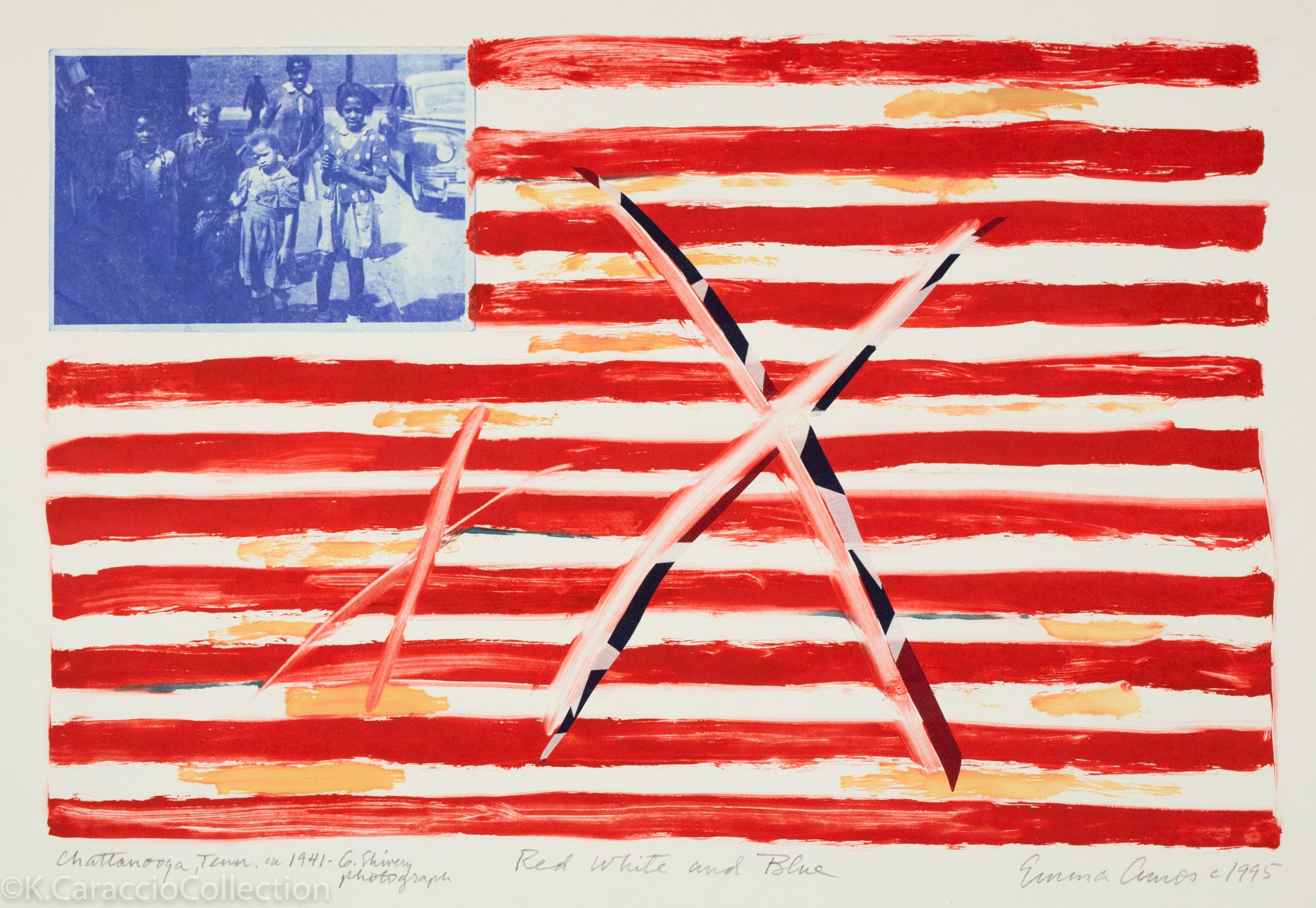 Red, White and Blue, 1995