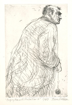 """""""Angry Man with Madellion-2"""", 2009"""