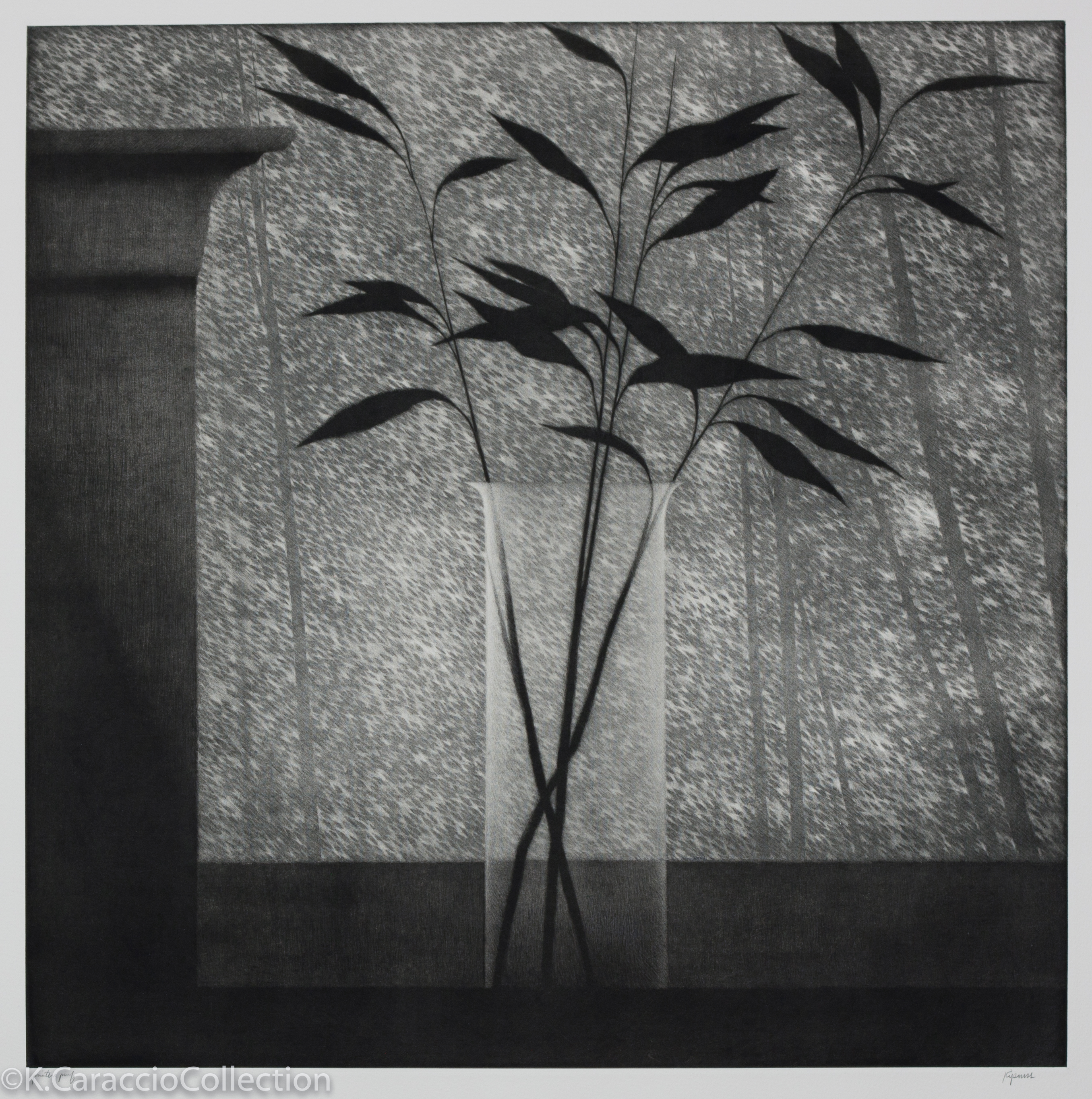 Window with Vase and Forest, 2001