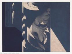 S.L.P. #3, Blue-Cream, 1985