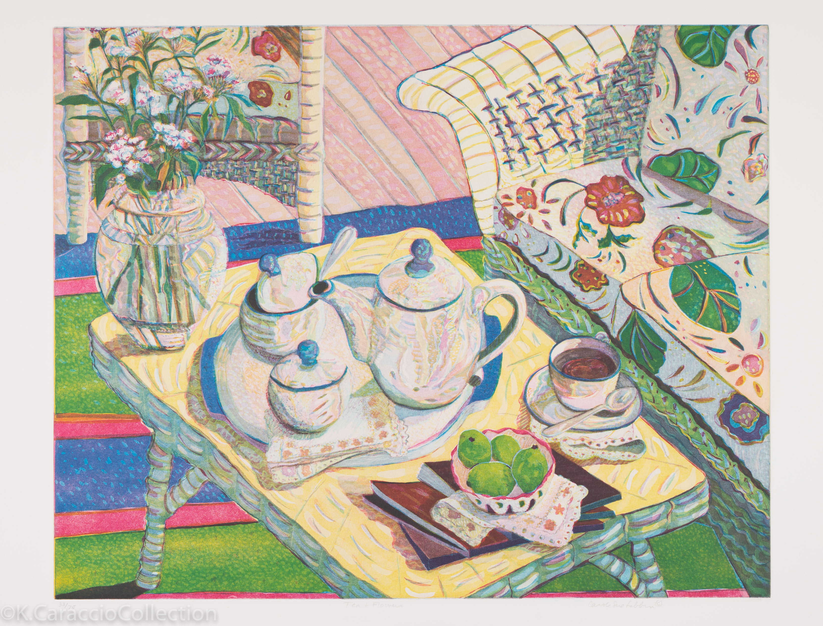 Tea and Flowers, 1997