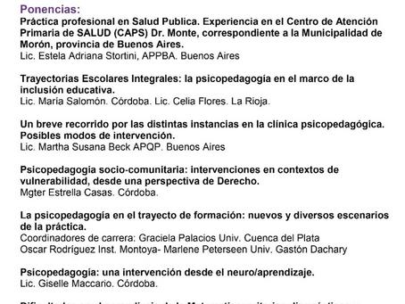 IV Jornada Federal en Psicopedagogía - Misiones