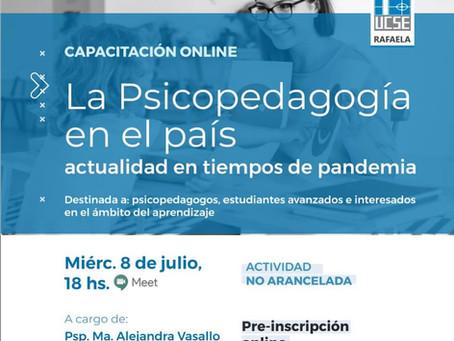 """""""La Psicopedagogía en el país"""""""