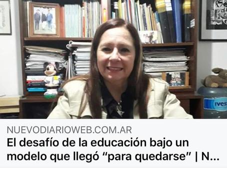 """""""El desafío de la educación bajo un modelo que llegó para quedarse"""""""