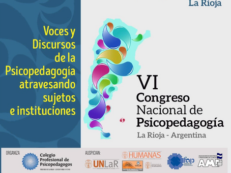 VI Congreso Nacional de Psicopedagogía 2019