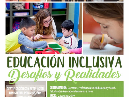 Educación inclusiva, desafios y realidades