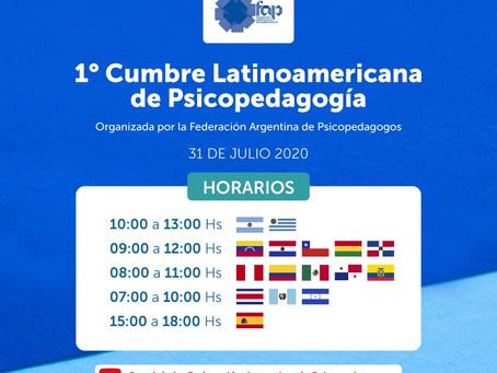 "Te perdiste la ""Primer Cumbre Latinoamericana de Psicopedagogia""?"