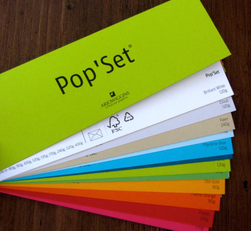 Creative papers that 'pop'