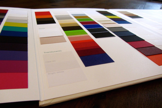 Creative Paper swatches