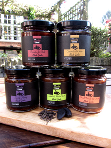 The Quirky Cook Black Garlic full range of labels