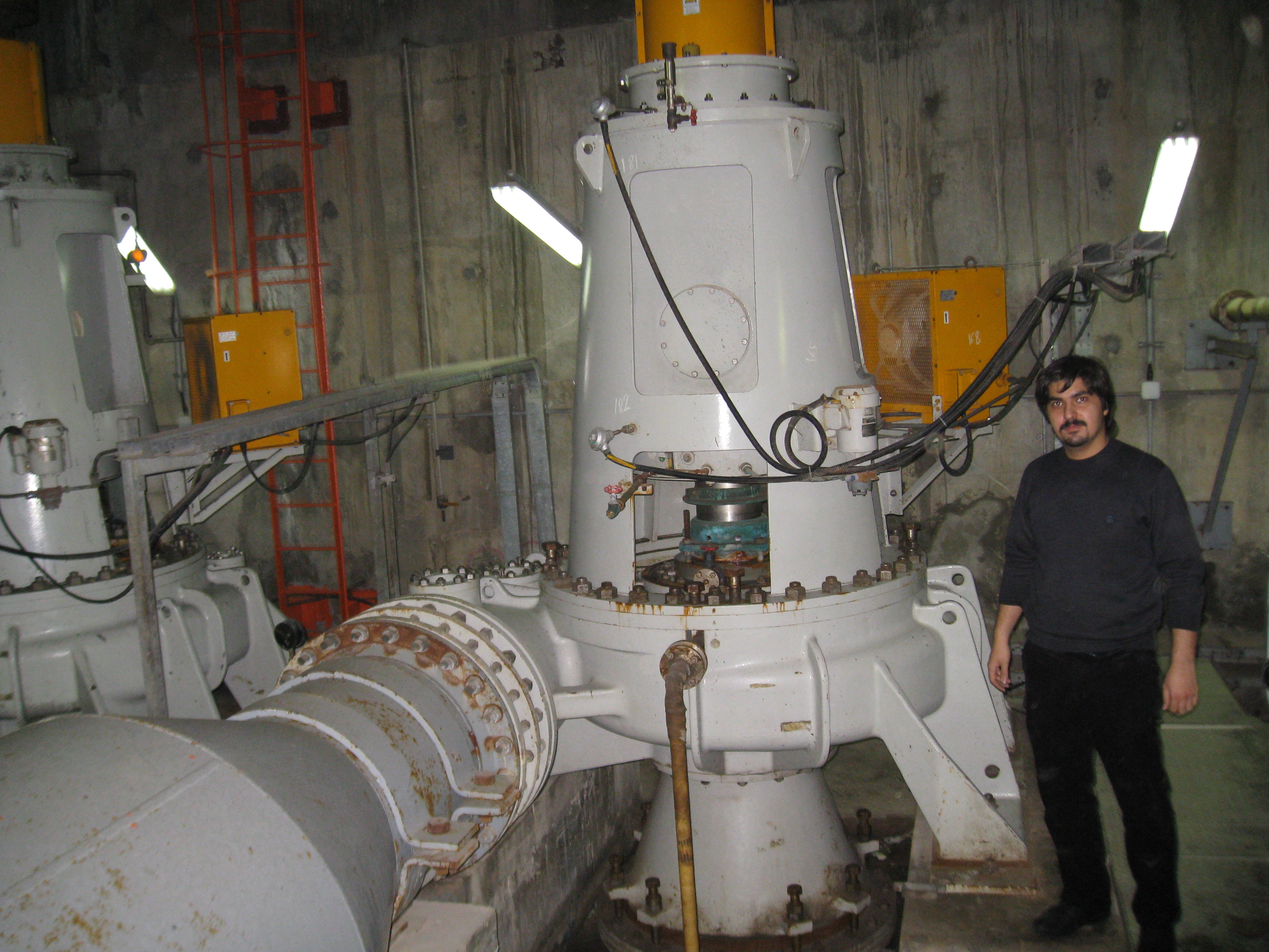 Behzad and the Hitachi pump